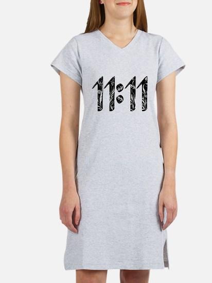 11:11 Floral Women's Nightshirt