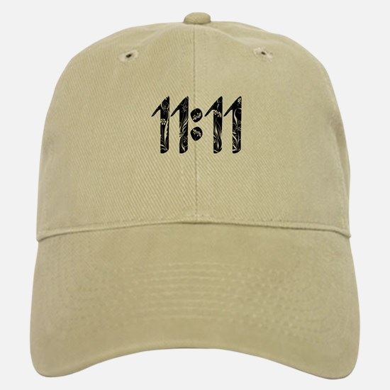 11:11 Floral Baseball Baseball Baseball Cap
