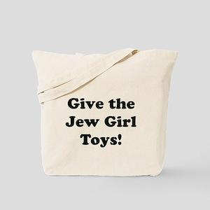 givethejewgirltoys Tote Bag
