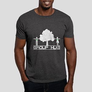 Group Hug!(Tree Hugger) Dark T-Shirt