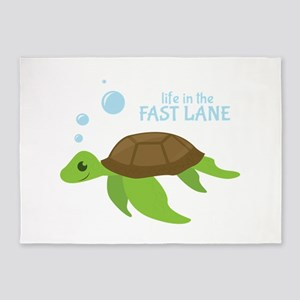 Fast Lane 5'x7'Area Rug