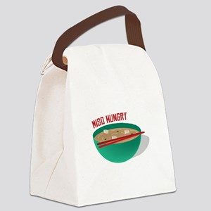 Miso Hungry Canvas Lunch Bag