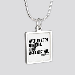 Trombone Quote Necklaces