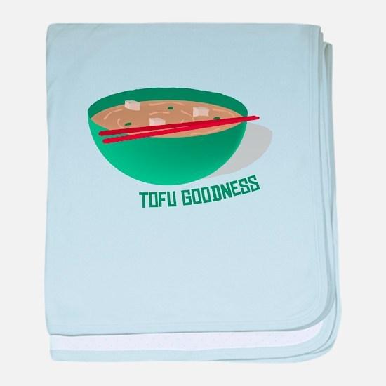 Tofu Goodness baby blanket