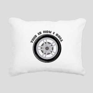 How I Roll Rectangular Canvas Pillow
