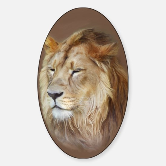 Painting Lion Decal