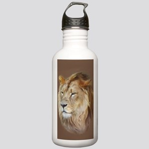 Painting Lion Water Bottle