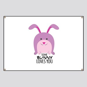 Bunny Loves You Banner