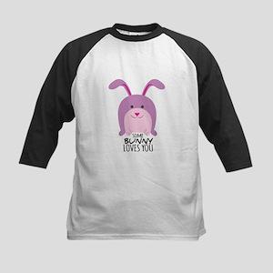Bunny Loves You Baseball Jersey
