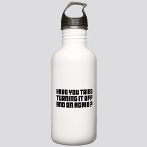 Turning it Off Stainless Water Bottle 1.0L
