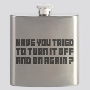 Turn it off and on again! Flask