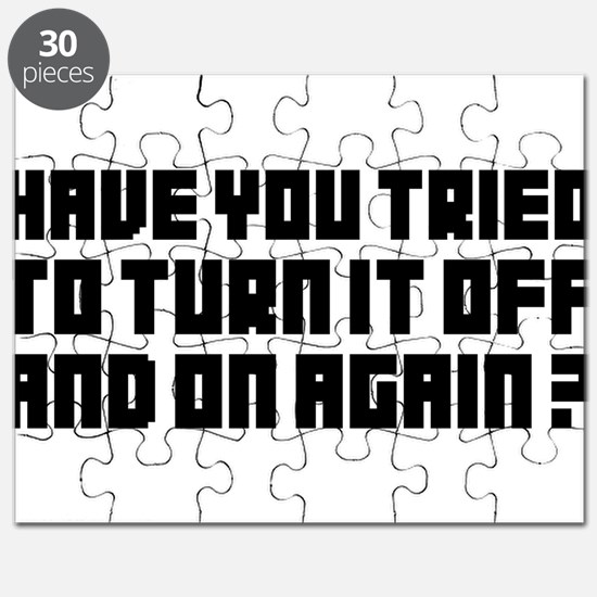 Turn it off and on again! Puzzle
