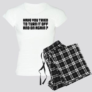 Turn it off and on again! Women's Light Pajamas