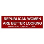 Republican Women Are Better Looking Sticker