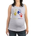 Colombian hands Maternity Tank Top