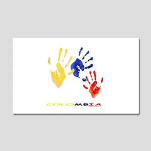 Colombian hands Car Magnet 20 x 12