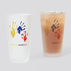 Colombian hands Drinking Glass