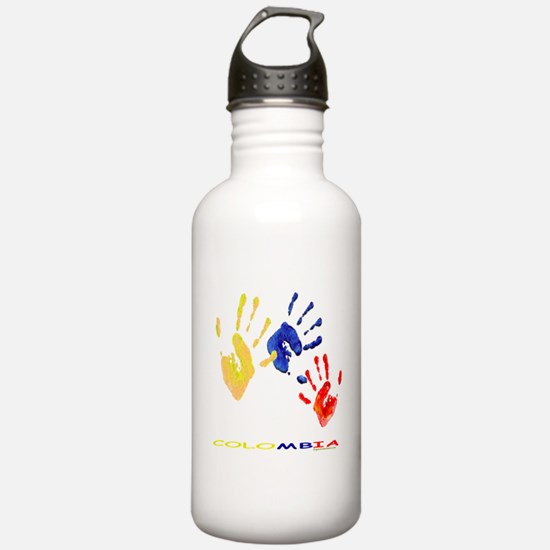 Colombian hands Water Bottle