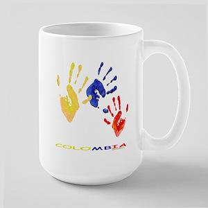 Colombian Hands Large Mug Mugs