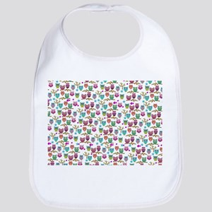 happy owls Bib