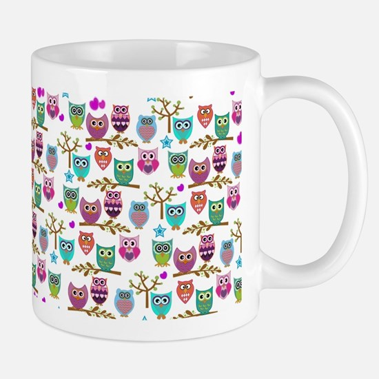happy owls Mugs