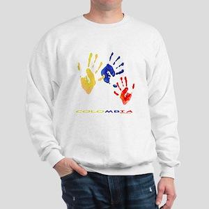 Colombian hands Sweatshirt