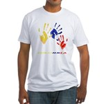 Colombian hands Fitted T-Shirt