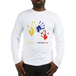 Colombian hands Long Sleeve T-Shirt