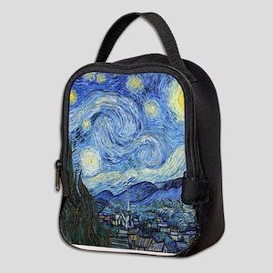 Van Goghs Starry Night Neoprene Lunch Bag