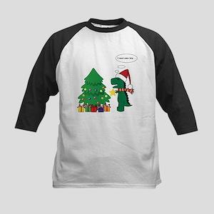 T-Rex hates Christmas Baseball Jersey