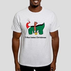 T-Rex hates Christmas T-Shirt