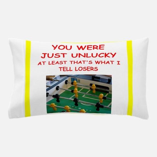 i love foosball Pillow Case