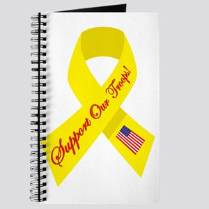 Support Our Troops Ribbon Journal