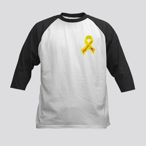 Support Our Troops Ribbon Kids Baseball Jersey