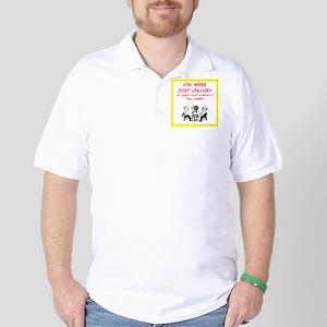 i love card games Golf Shirt