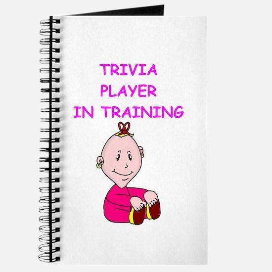 i love trivia Journal