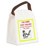 i love tennis Canvas Lunch Bag