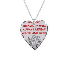 i love tennis Necklace