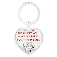 i love tennis Keychains