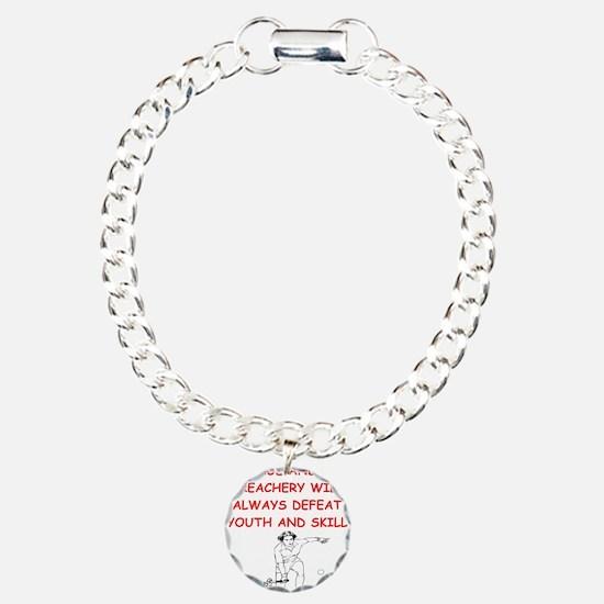 i love tennis Bracelet