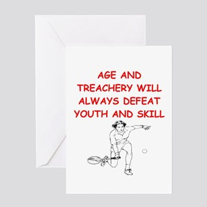 Funny tennis greeting cards cafepress i love tennis greeting cards m4hsunfo Choice Image