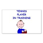 i love tennis Sticker