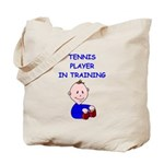 i love tennis Tote Bag