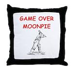 i love tennis Throw Pillow