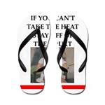 i love tennis Flip Flops