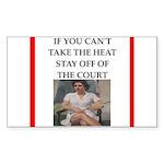 i love tennis Sticker