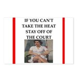 i love tennis Postcards (Package of 8)