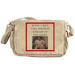 i love tennis Messenger Bag