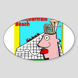 Pontchartrain Beach Sticker