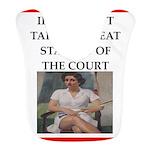 i love tennis Bib